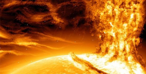 Saatte 2.5 milyon mil hızla Dünya'ya doğru ilerliyor