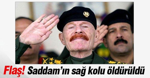 Saddam'ın sağ kolu öldürüldü
