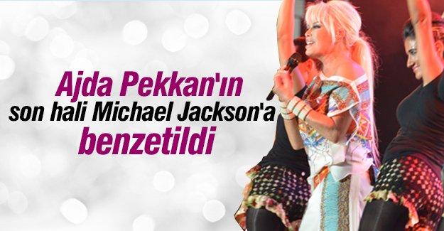 Sanatçı Ajda Pekkan'ın son halini Michael Jackson'a benzetenler oldu