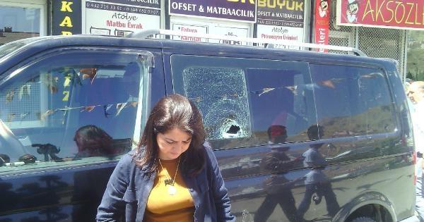 Ak Partili Kadın Milletvekiline Taşlı Saldırı