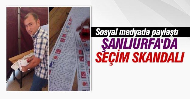 Şanlıurfa'da görülmemiş seçim skandalı