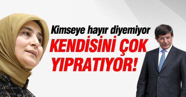 Sare Davutoğlu: Eşim kimseye hayır diyemiyor!