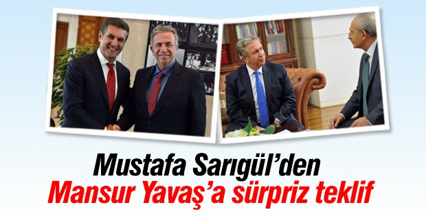 Sarıgül'den Mansur Yavaş'a sürpriz teklif