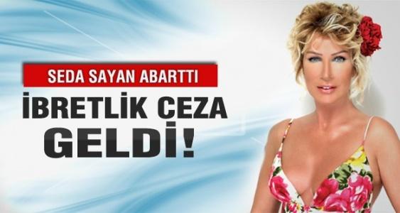 Seda Sayan reklamı abarttı RTÜK cezayı kesti