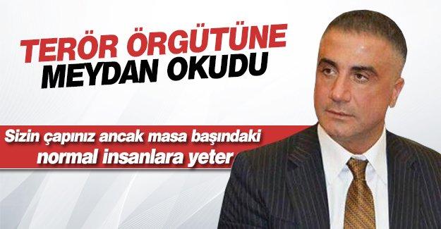 Sedat Peker: Bunlar çapsız