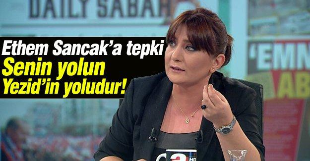 Sevilay Yükselir'den Ethem Sancak'a tepki