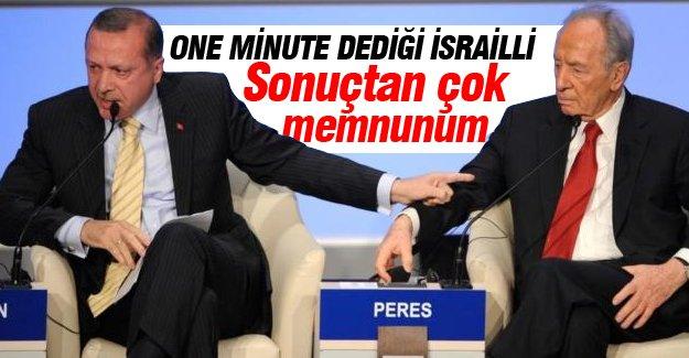 Şimon Peres sonuçlardan memnun olduğunu açıkladı