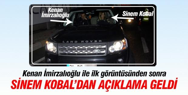 Sinem Kobal'dan Kenan açıklaması
