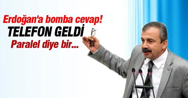 Sırrı Süreyya Önder'den Erdoğan'a bomba cevap!