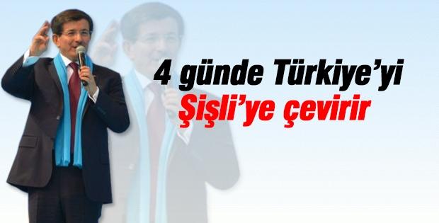 Şişli'yi yönetemeyen, Türkiye'yi nasıl yönetecek!
