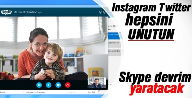 Skype devrim yaratacak yeni servisiyle geliyor!