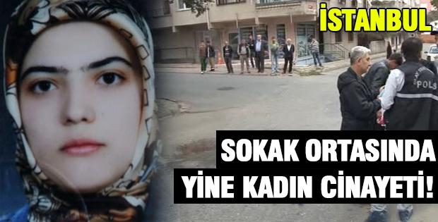 Sokak Ortasında Yine Kadın Cinayeti
