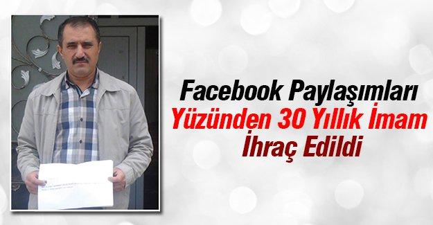 Sosyal Medya Paylaşımları Yüzünden 30 Yıllık İmam İhraç Edildi
