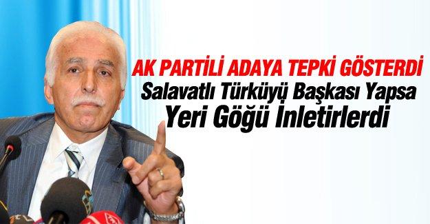 SP Lideri AK Partili adaya tepki gösterdi