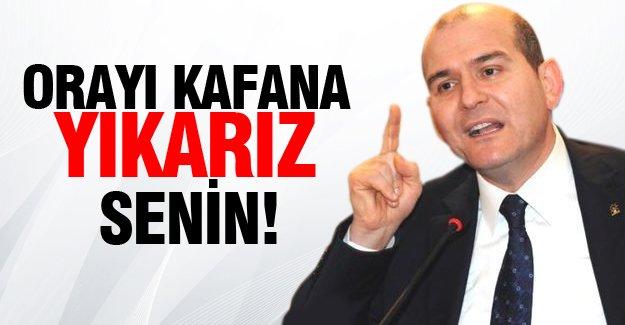 Süleyman Soylu'dan Selahattin Demirtaş'a sert sözler!
