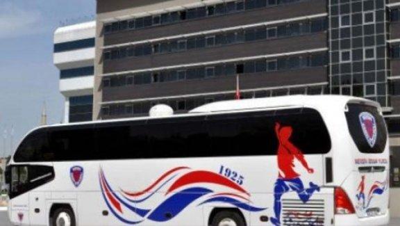 Süper Lig ekibinin otobüsüne haciz