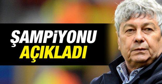 Süper Lig'in Şampiyonunu Açıkladı