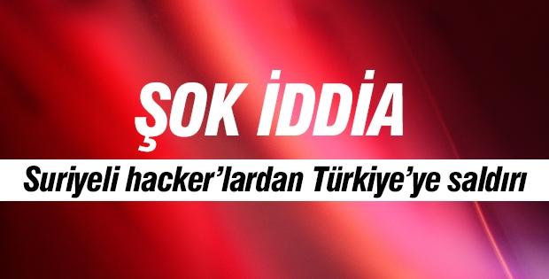 Suriyeli hacker'lardan Türkiye'ye saldırı