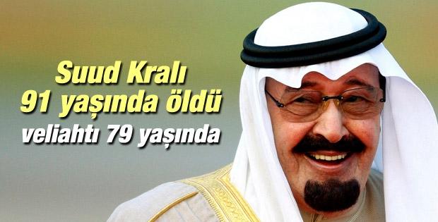 Suudi Arabistan kralı öldü