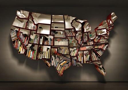Tasarım Harikası Kitaplıklar