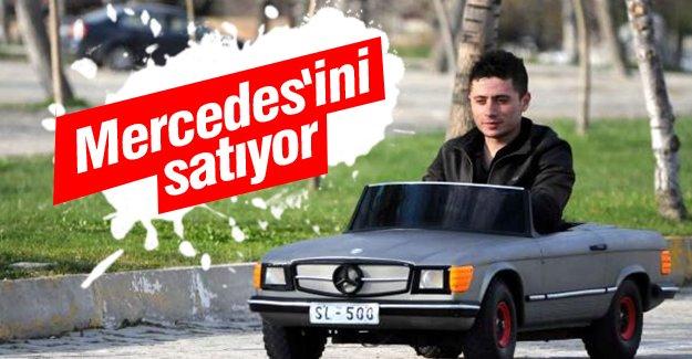 Tek kişilik Mercedes'ini satıyor