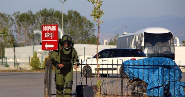 Terminalde Unutulan Valiz Bomba Şüphesiyle Patlatıldı