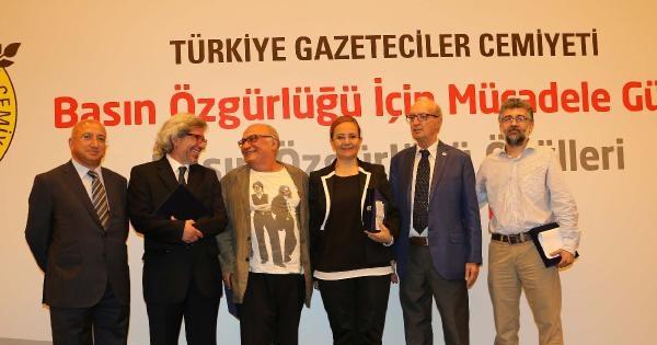 Tgc'nin Basın Özgürlüğü Ödülleri Sahiplerini Buldu