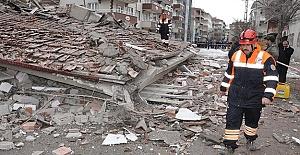 Yozgat'ta 5 Katlı Bina Çöktü