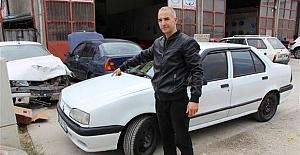 Arabanın önü 1996, arkası 2000 model çıktı