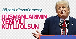 Trump'tan yeni yıl mesajı