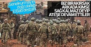 Türk askeri El Bab'da destan yazdı