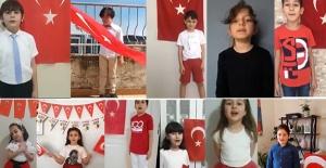 Özel Elma Öğrencileri, 23 Nisan Çocuk Bayramını Coşkuyla Kutladı
