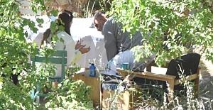Serenay Sarıkaya ile Haldun Demirhisar birlikte görüntülendi