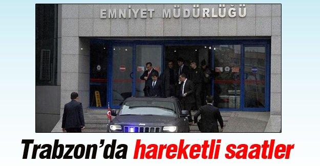 Trabzon Valisi ve İl Jandarma Alay Komutanı Emniyet Müdürlüğü'nü ziyaret etti