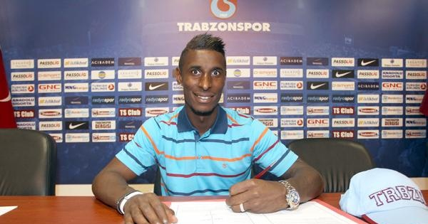 Trabzonspor Constant İle 4 Yıllık Sözleşme İmzaladi