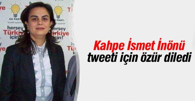 Tülay Babuşçu o tweet için özür diledi