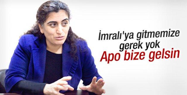 Tuncel: Öcalan gelip süreci yönetsin