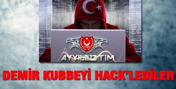Türk hackerler İsrailin Demir Kubbe Savunma Sistemini hackledi