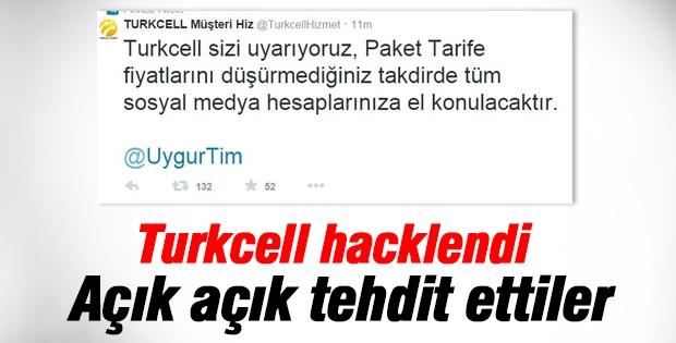 Turkcell hack'lendi tehditler hava da uçuştu!