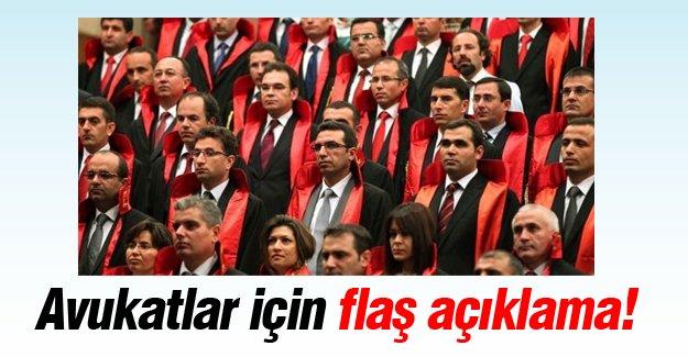 Türkiye Barolar Birliği'nden önemli açıklama