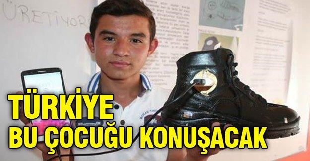 Türkiye bu çocuğu konuşacak!