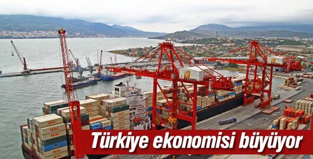 Türkiye ekonomisi her geçen gün büyüyor