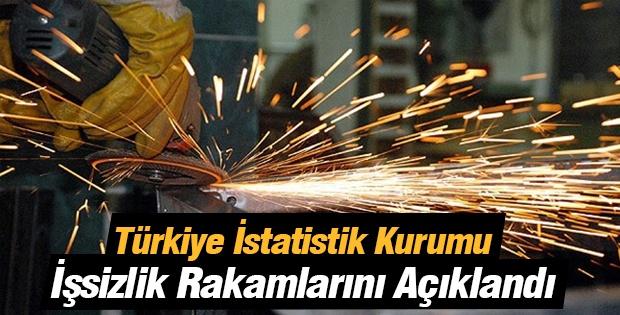 Türkiye İstatistik Kurumu İşsizlik Rakamlarını Açıklandı