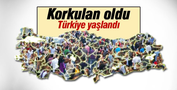 Türkiye nüfusunda bir ilk yaşanıyor!