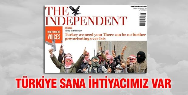 'Türkiye sana ihtiyacımız var'