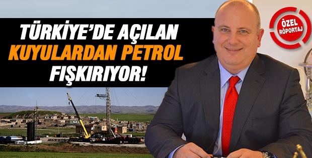 Türkiye'de açılan kuyulardan petrol fışkırıyor!