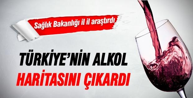 Türkiye'nin Alkol Haritası Çıkarıldı