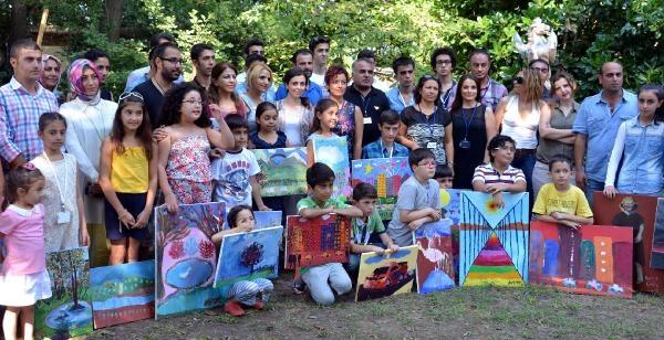 Türkiye'nin Çocuk Ressamları Sapanca Doğapark'ta Buluştu