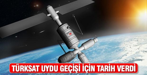 Türksat uydu geçişi için tarih verdi