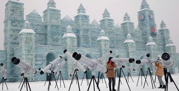 Uluslararası Buz ve Kar Festivali'de Sergilenen İnanılmaz 26 Buz Tasarım